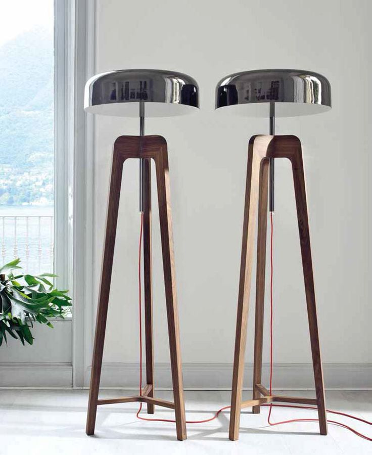 Pileo Floor Lamp, Transitional Bedroom Design at Cassoni.com