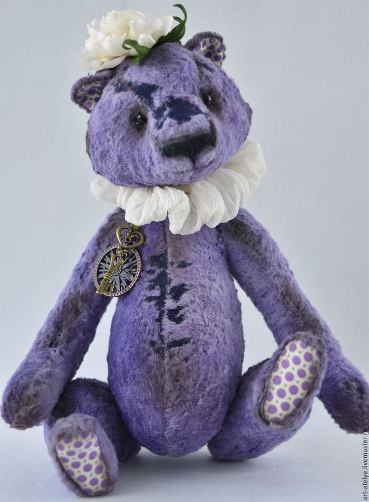 Buy Charle - purple, teddy bear, bear-Teddy, bear toy
