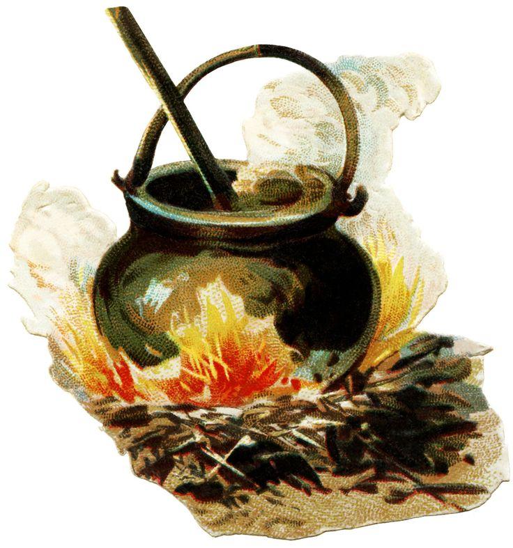 free halloween clipart witch cauldron - photo #35