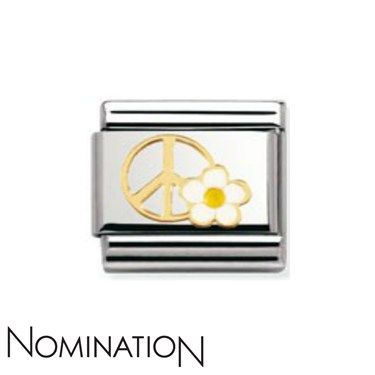 Nomination Peace Flower Charm £22