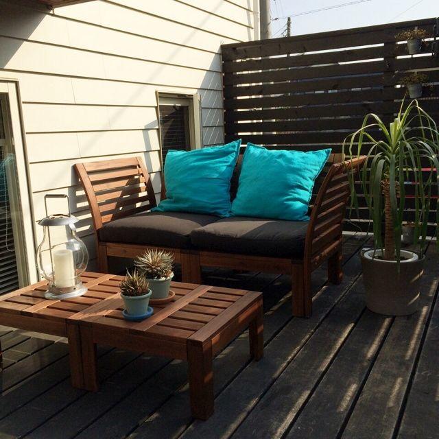 リゾート化計画/ブログやってます/夏に向けて/HAWAIIを感じたい/IKEAソファーセット…などのインテリア実例 - 2014-04-10 10:40:58 | RoomClip(ルームクリップ)