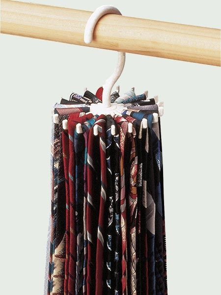 Let Dad see all the novelty ties you've gifted him in the past—without sacrificing significant closet space—with this compact, budget-friendly organizer. Twirl-a-Tie Tie Rack/Organizer, about $4; Amazon