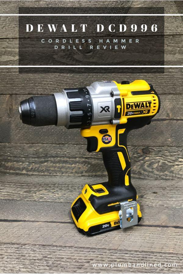 Dewalt 20v Max Xr Cordless Hammer Drill Review Dcd996 Cordless Hammer Drill Dewalt Drill