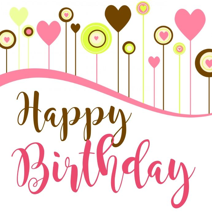 Post Para Tarjeta De Cumpleanos Instagram Birthday Wishes Happy Birthday Greetings Birthday Background Design