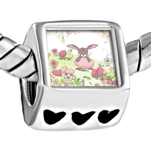 Pugster Photo Beads Heart European Fits Pandora Charm Bracelet Pugster. $12.49. Metal: metal. Weight (gram): 4.20. Size (mm): 7.60*9.10*10.10. Color: silver