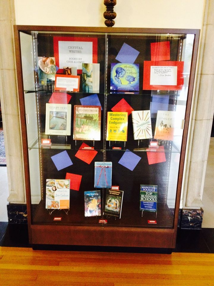 Display of alumni books at my old high school in honour of the librarian's retirement. #harlequinhistorical
