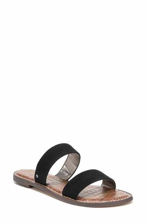 ed4bf972647 Sam Edelman Gala Two Strap Slide Sandal (Women)