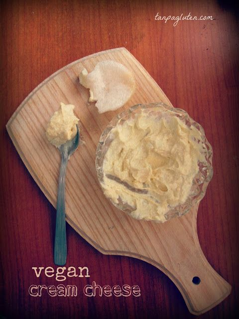 resep bebas gluten: vegan cream cheese