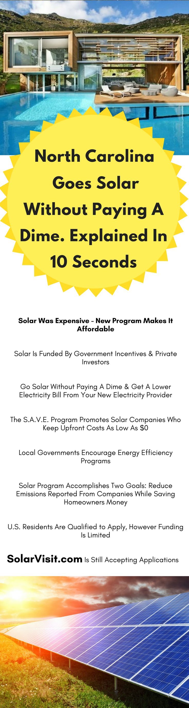 North Carolina is one of the best places to go solar!
