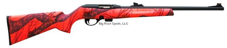 Rem 597 Mossy Oak Blaze 22LR 20 Tru Glo Rifle Sight - Sniper Ready