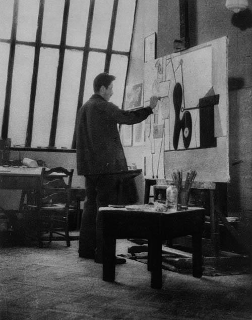 Arshile Gorky(April 15, 1904 – July 21, 1948) was an Armenian-American painter, who had a seminal influence on Abstract Expressionism. As such, his works were often speculated to have been informed by the suffering and loss he experienced of the Armenian Genocide