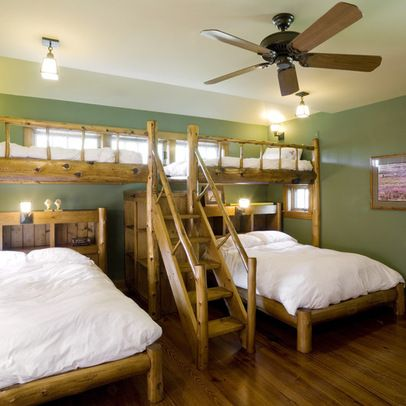 what to do with dormer space in bedroom   Cabin Sleeping Loft Design Ideas, Pictures, Remodel, and Decor