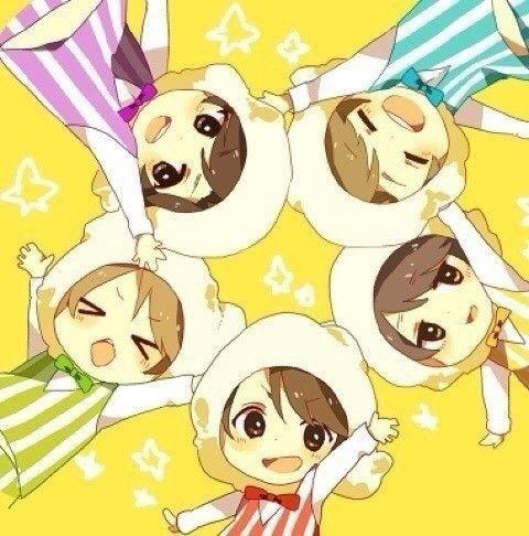 Arashi in popcorn