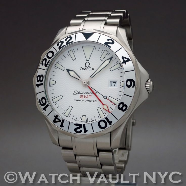 Omega Seamaster Professional 300M GMT Great White 2538.20 41mm Auto