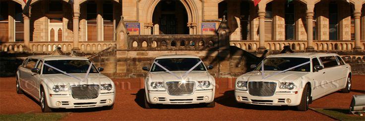 Sydney Wedding cars - Chrysler 300C's