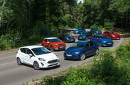 2017 Ford Fiesta vs eight rivals: what's the best small car in the UK today?  We pitched the 2017 Ford Fiesta against eight of its biggest rivals in the small car class  The new Fiesta takes on the Citröen C3 Kia Rio Suzuki Swift Renault Clio Nissan Micra Seat Ibiza Mini One and Mazda 2 in a mega group test  To idly observe that there have been a few interesting small hatchbacks introduced lately would be an understatement not far from the magnitude of Captain Scotts Antarctic walk  although…