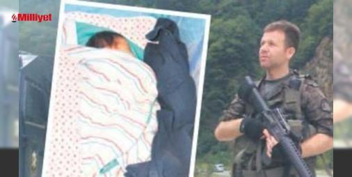 Şehit babasının kokusuyla uyuyor: FETÖ'nün darbe girişimi sırasında Ankara Gölbaşı'ndaki Özel Harekât Daire Başkanlığı'na yapılan bombalı saldırıda şehit düşen Konyalı Muhsin Kiremitci'nin eşi Seda Kiremitci 23 Ağustos'ta dünyaya getirdiği yavrusuyla avunmaya çalışıyor. Kiremitci Gökçe bebek babasının kokusunu hissetsin diye şehi...