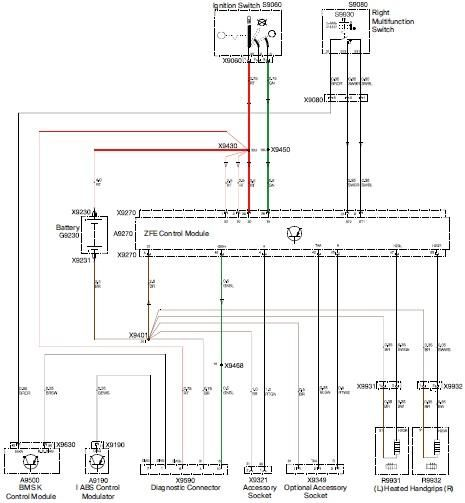 Bmw K1200lt Electrical Wiring Diagram  4