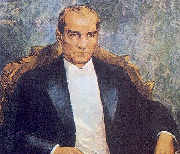 ibrahim çallı atatürk portresi ile ilgili görsel sonucu