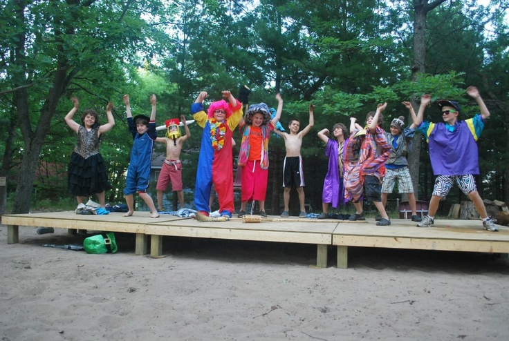 Talent Show at Camp Kitchi