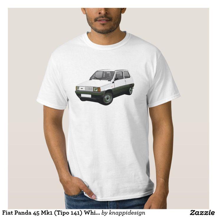 Fiat Panda 45 Mk1 (Tipo 141) White Shirts  #fiat #fiatpanda #tshirt #italia #italy #panda #thirts #80s #white