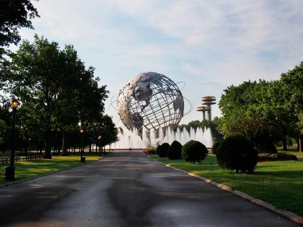 1964 worlds fair grounds - Flushing, Queens - I remember this!  I want to go see it again