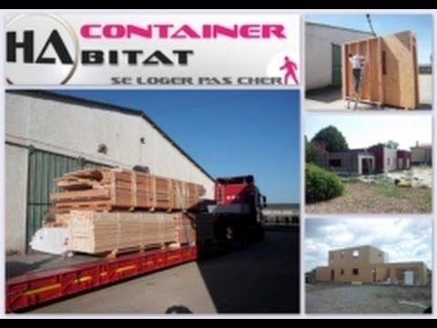 屳 +33 (0) 6 30 66 78 63 Container habitable en kit low cost