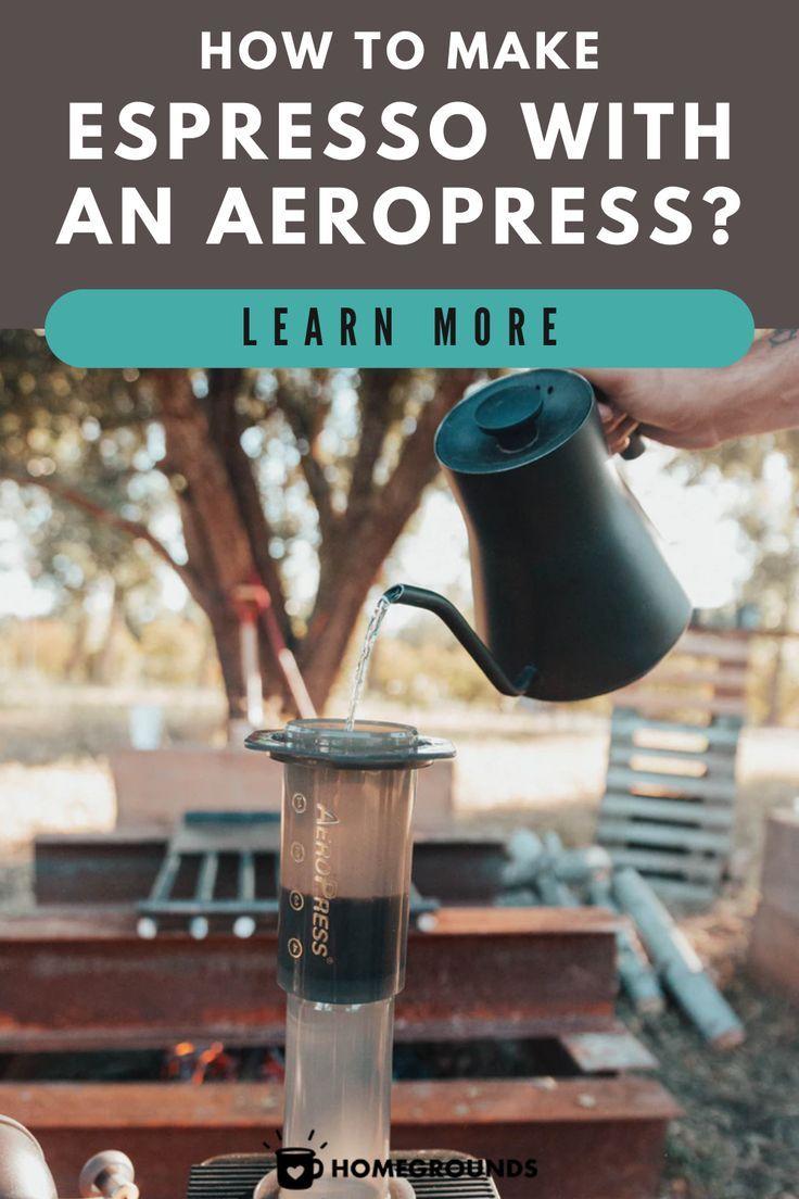 This Aeropress Espresso Recipe Really Works If You Do This Aeropress Espresso Aeropress Coffee