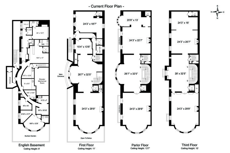 169 best images about floor plans elevations on
