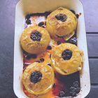 Appels met krenten en bruine suiker uit de oven van Tana Ramsay