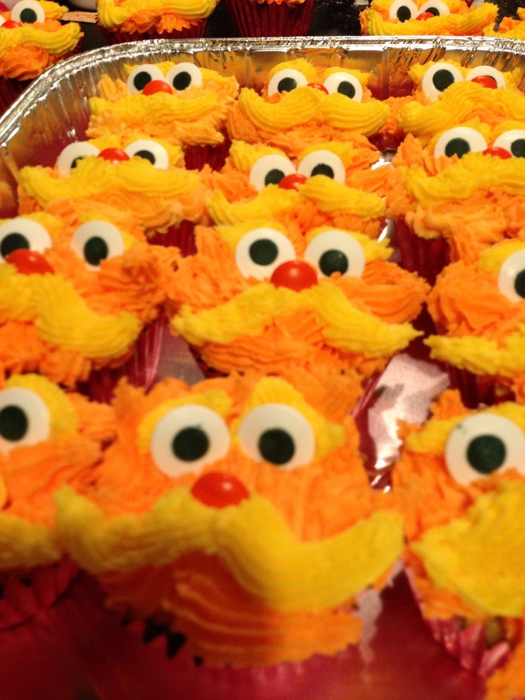 Consumed with Cupcakes: The Lorax Inspired Cupcakes