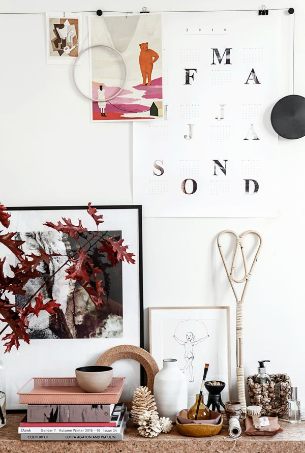 A STOCKHOLM HOME WITH A FEW TOUCHES OF RED   THE STYLE FILES