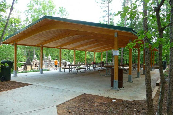 picnic shelter plans | http://www.custompark.com/shelters/picnic-shelters.php