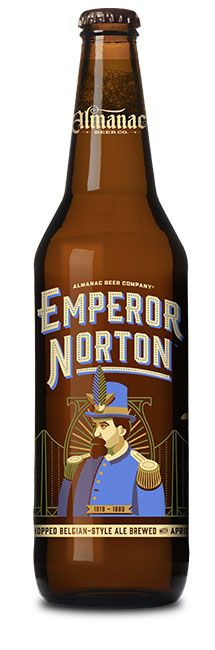 Emperor Norton - Almanac Brewing  A wild Belgian Ale, with local apricots