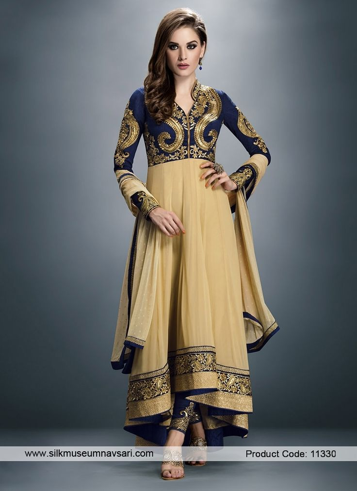 Sizzling Border Patch Festival Anarkali Suit