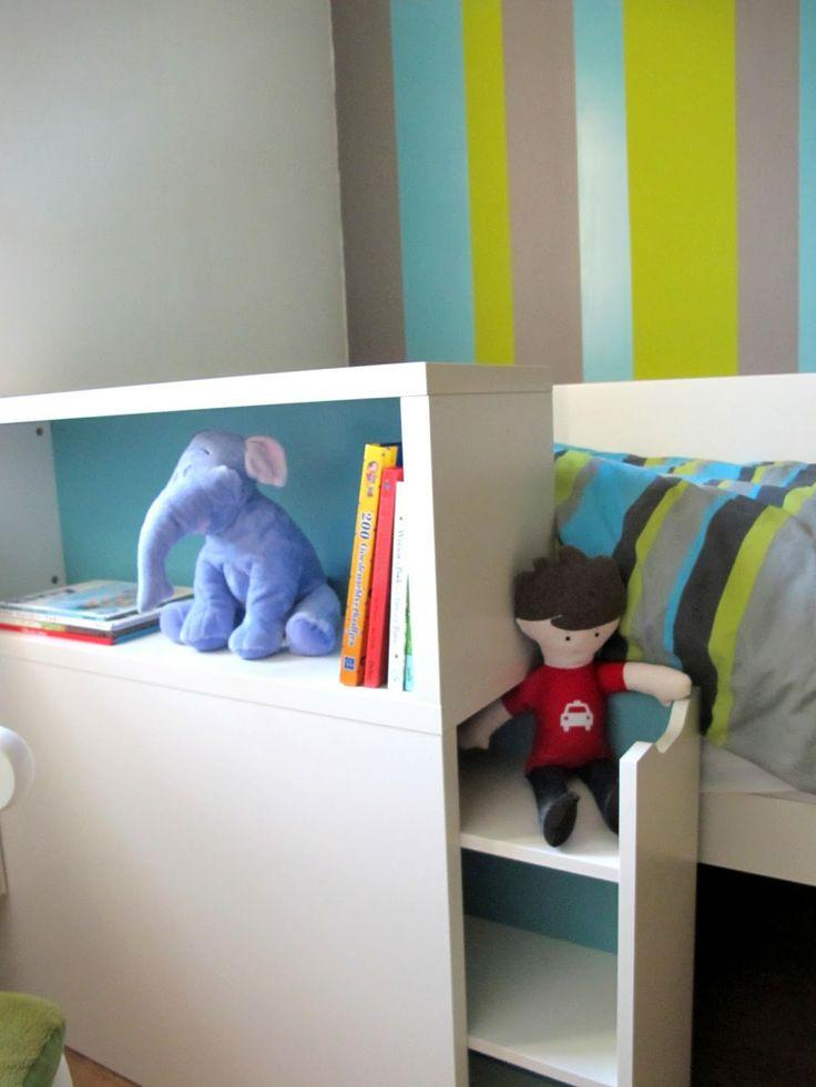 flaxa bett von ikea mal nicht mit dem kopfteil am kopfende sondern daneben auch eine gute. Black Bedroom Furniture Sets. Home Design Ideas