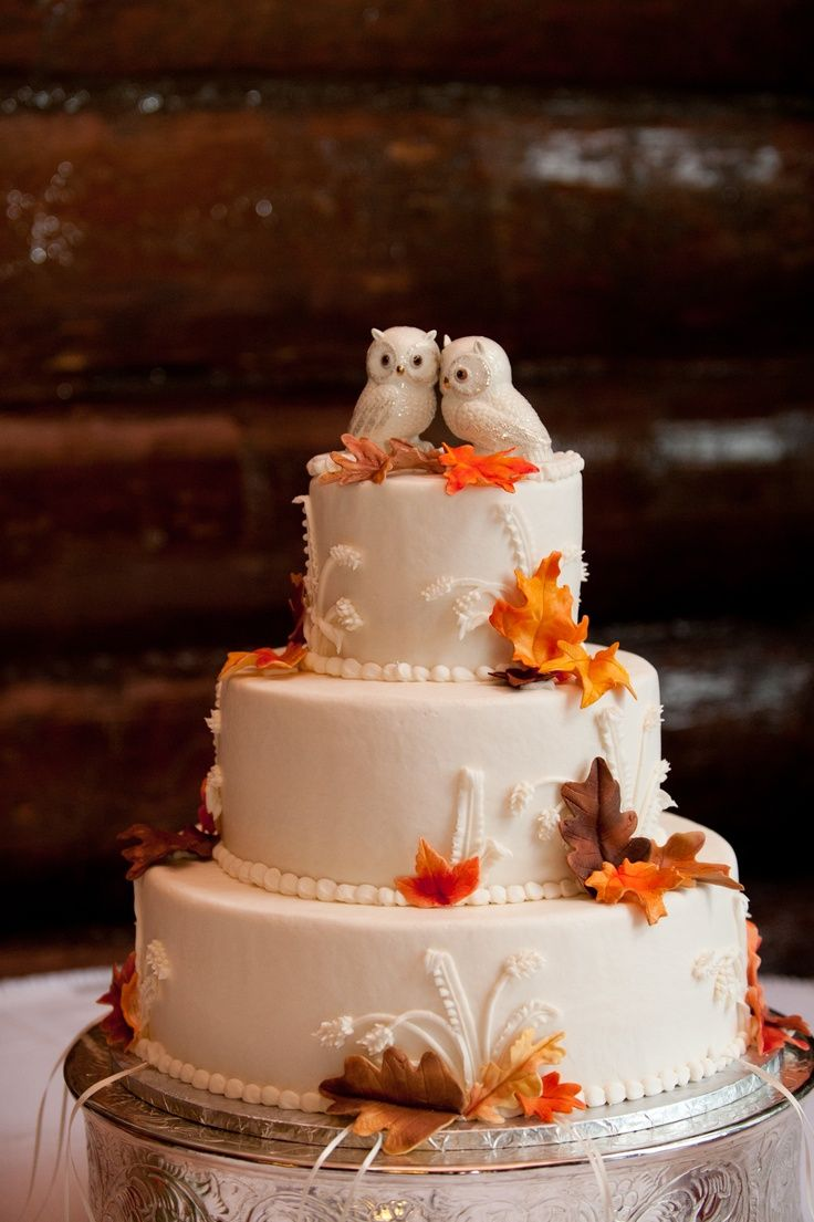 5 Ideas for Amazing Autumn Wedding Cakes