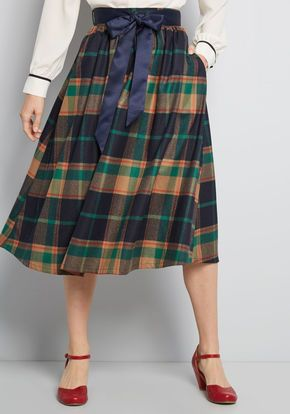 82bca7b231 Particularly Poised A-Line Skirt | { shein + francescas } | Skirts ...