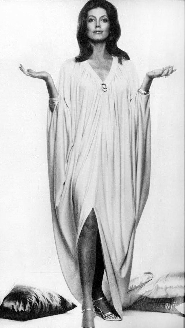 Gayle Hunnicutt in Yuki, British Vogue, October 1973. Photo: Henry Clarke