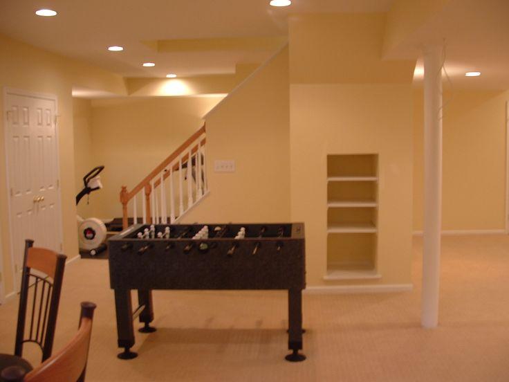 Ideas To Finish Basement 91 best finished basements images on pinterest | basement ideas