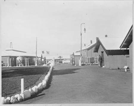 The entrance to the camp at the Venereal Hospital at Langwarrin, Victoria, c.1915 – 1918. Courtesy Australian War Memorial