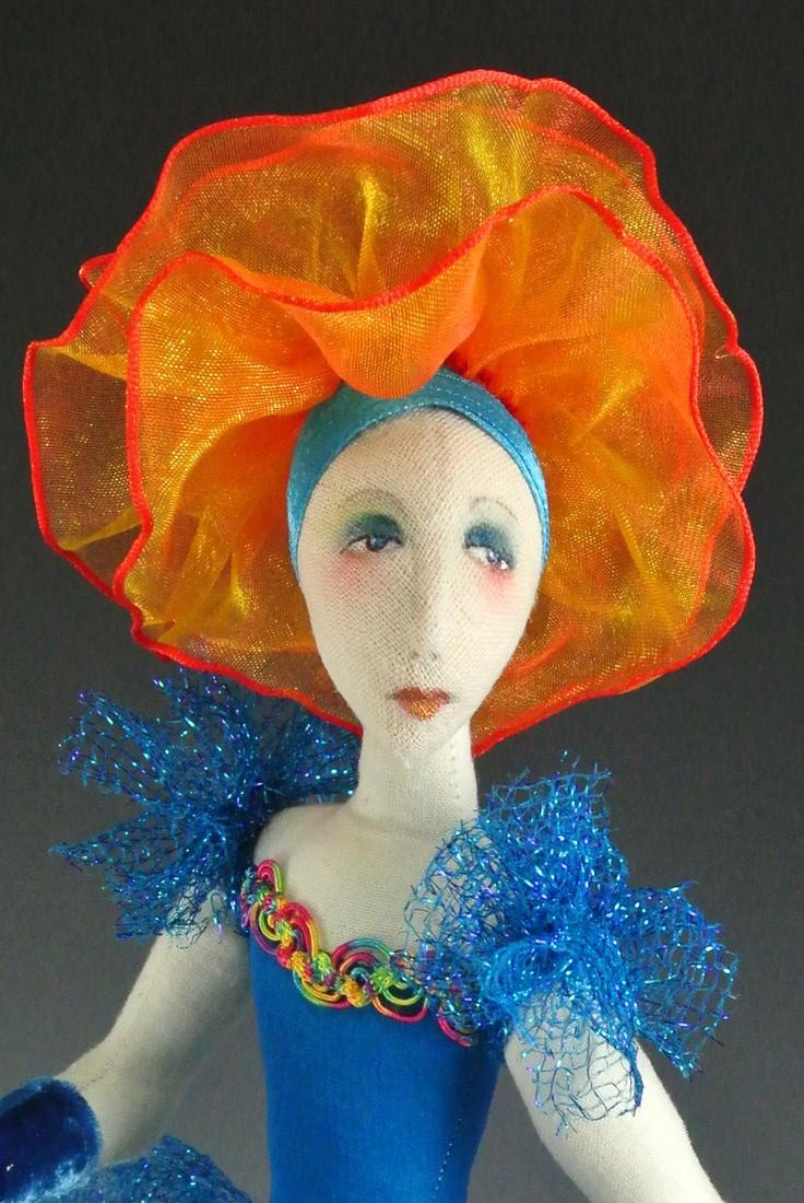 Aforartistic online doll mixed media classes art dolls