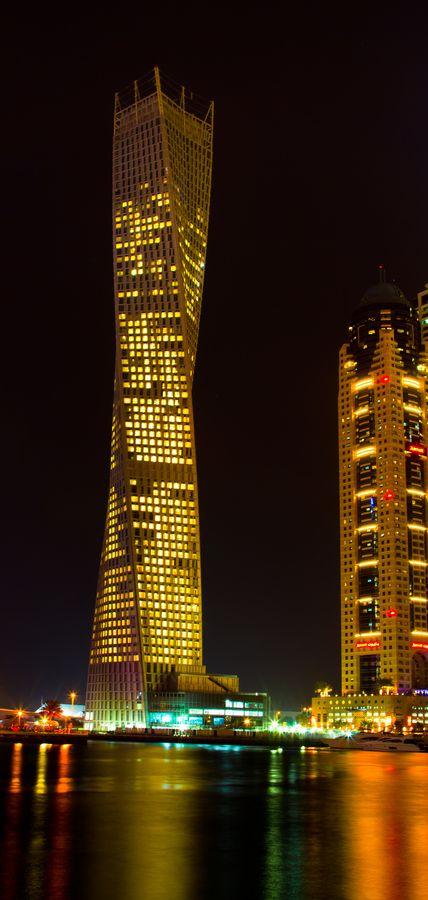 Dubai Marina Dream Tower 212 1 bed Dubai ArabEmirates