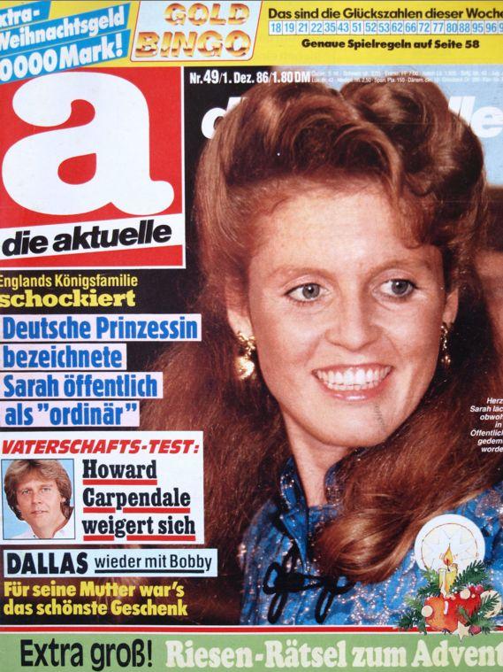 die aktuelle Nr. 49 von 1986 - Fergie