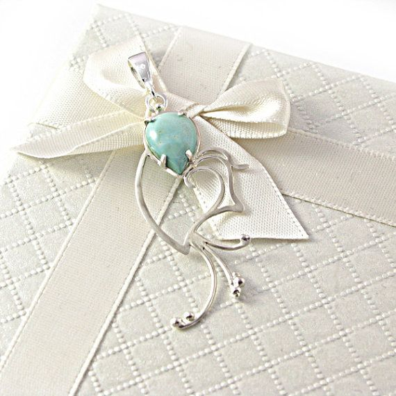 Fine long sterling silver pendant necklace bell by byPiLLowDesign, $42.00