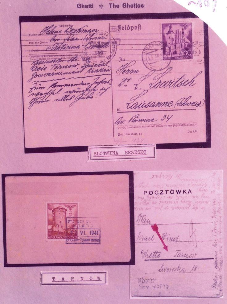 Mostra documentaria-filatelica, Genova, 1975. Cartoline dai ghetti.
