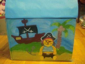 НАША СТРАНА МАСТЕРОВ: Сундук для игрушек