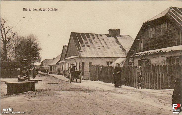 Biała Podlaska, ul. Łomaska, 1916 r.