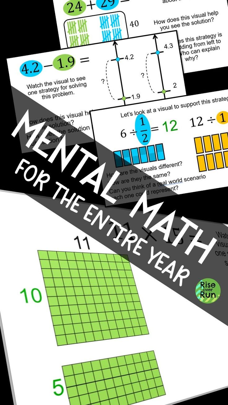 Mental Math for Middle and High School in 2020 (With