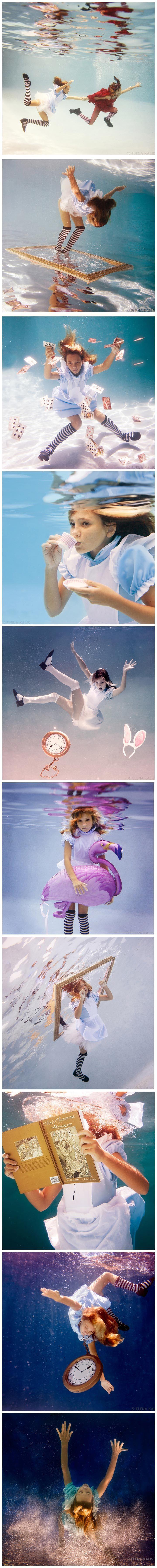 #wonderlandinspired #underwater #beautiful #photos #alice